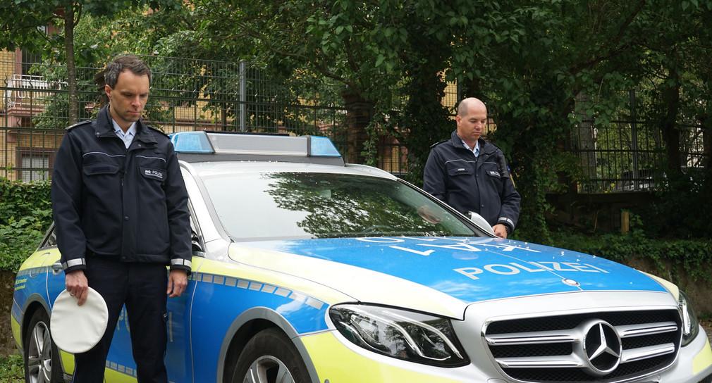 Die Polizei Baden-Württemberg trauert. (Bild: Polizei Baden-Württemberg)