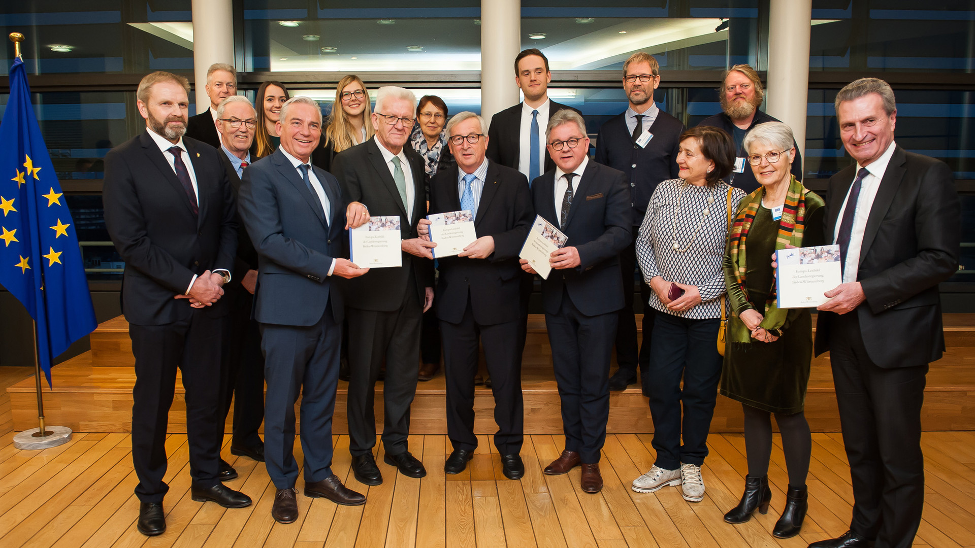 Landesregierung stellt Europa Leitbild vor Baden Württemberg.de