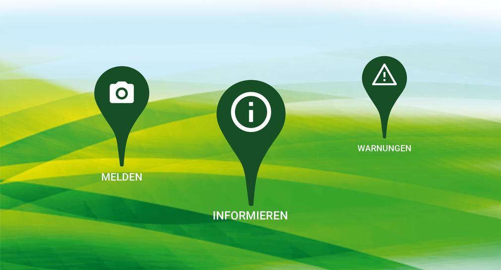 Meine Umwelt-App. (Bild: Umweltministerium Baden-Württemberg)