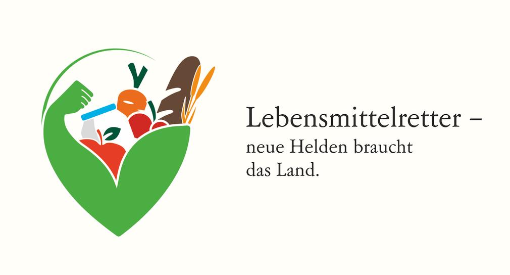 Logo der Kampagne Lebensmittelretter. (Bild: Ministerium für Ländlichen Raum und Verbraucherschutz Baden-Württemberg)
