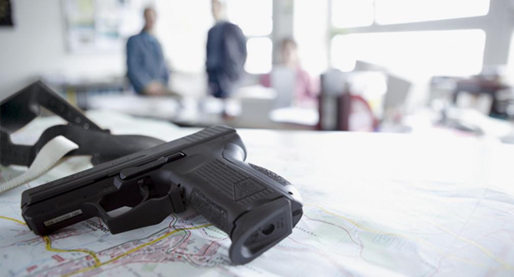 Eine Waffe der Polizei Baden-Württemberg (Bild: © Polizei Baden-Württemberg)