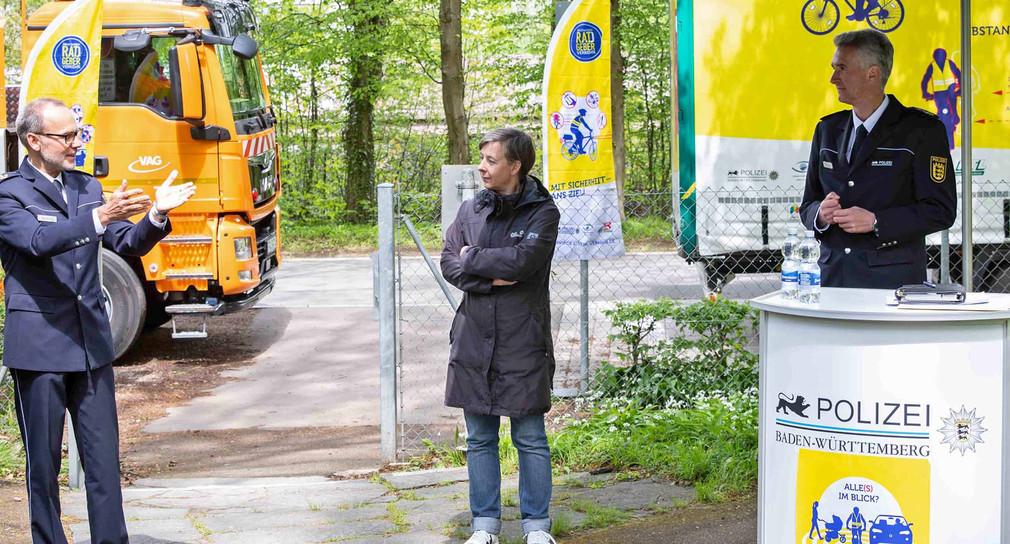 """Aktionstag """"sicher.mobil.leben"""" mit Start einer neuen Verkehrrsicherheitskampage."""