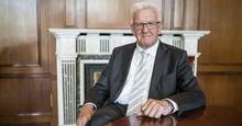Ministerpräsident Winfried Kretschmann (Bild: Dennis Williamson)