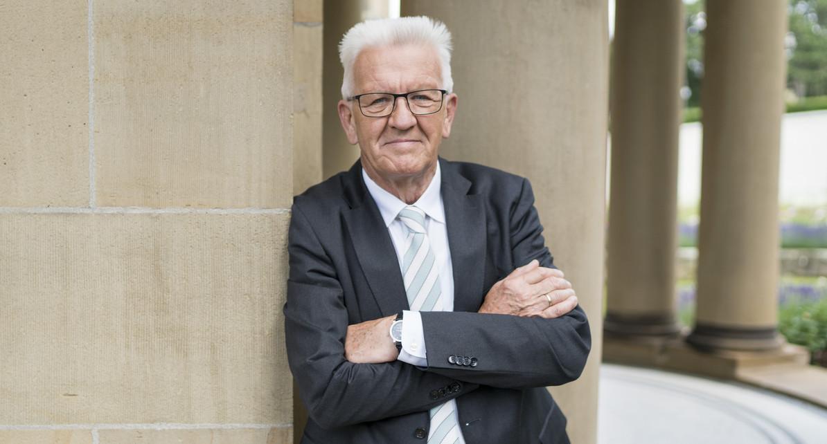 Minister President Baden Wurttemberg De