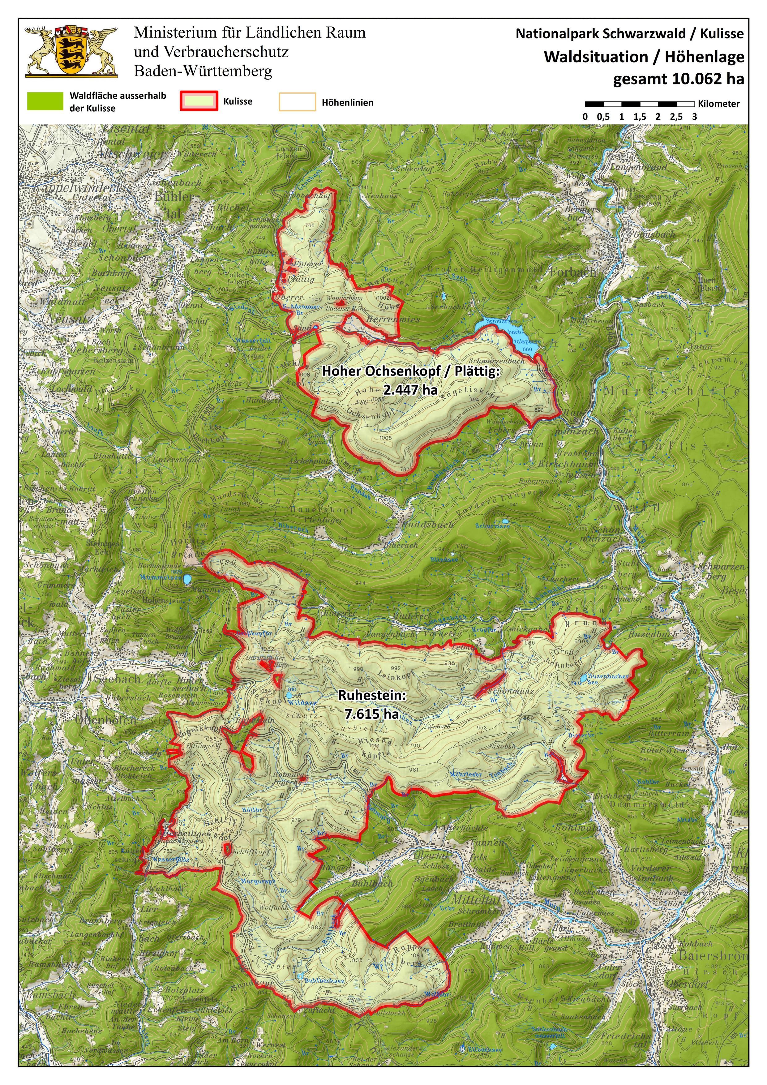 Nordschwarzwald Karte.Karte Nationalpark Schwarzwald Hanzeontwerpfabriek