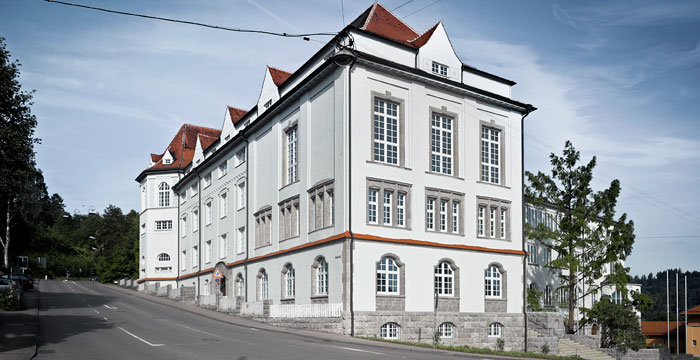 Bergabe des els sser baus an die hochschule f r for Hochschule fuer gestaltung